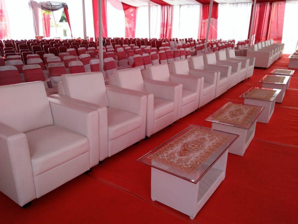 Alat Pesta Lengkap dan Murah di Sumarecon Bekasi - sewa meja vip - Sewa Sofa