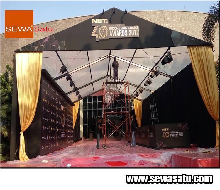 SewaSatu pusatnya Persewaan tenda roder terlengkap