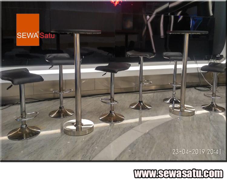 Pusat Rental meja barstool murah di karawang
